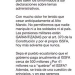Escuchen oposición trucha: lo q es con @MashiRafael es con nosotros Carajo! #NadieTocaMiRC #Alerta10F @35PAIS https://t.co/rl3MslgRgP