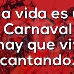 ¡La vida es un carnaval y hay que vivir cantando! 🔊🎤🎼. 👉 @attacreativa 💧💦💃🏻 https://t.co/AgJ8ZrMlci
