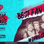 THNX @WW1DUpdates! #Directioners, nominated for #BestFanArmy at the #iHeartAwards. RT or use https://t.co/aPueslpaIw https://t.co/5Eb9rniS3q