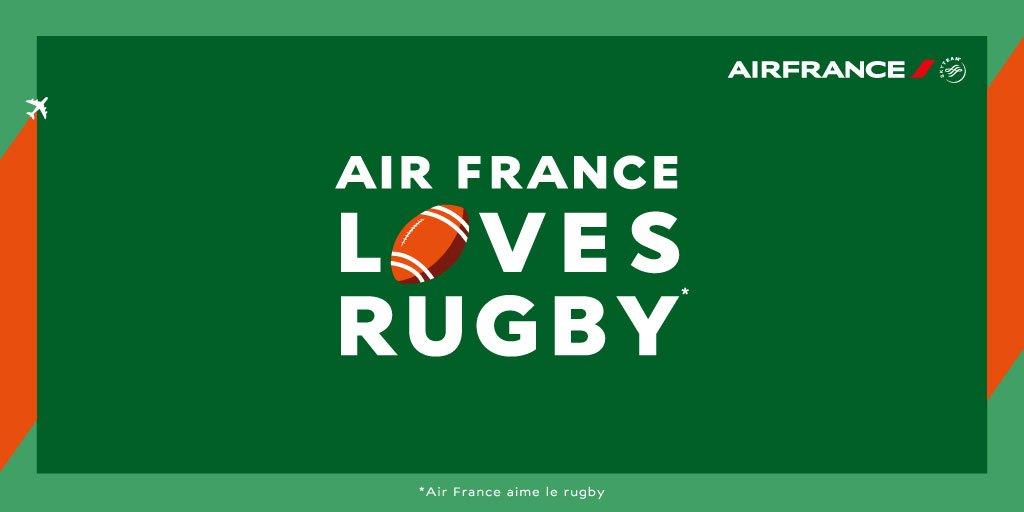 AirFrance partenaire du XVdeFrance! 4 places à gagner pour FRAIRL par simple RT +
