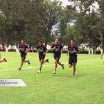Todo el equipo de #LDU continúa su entrenamiento el día de hoy en Pomasqui #VamosLIGA Informa @PoweradeEcuador https://t.co/gXpJ678xs9