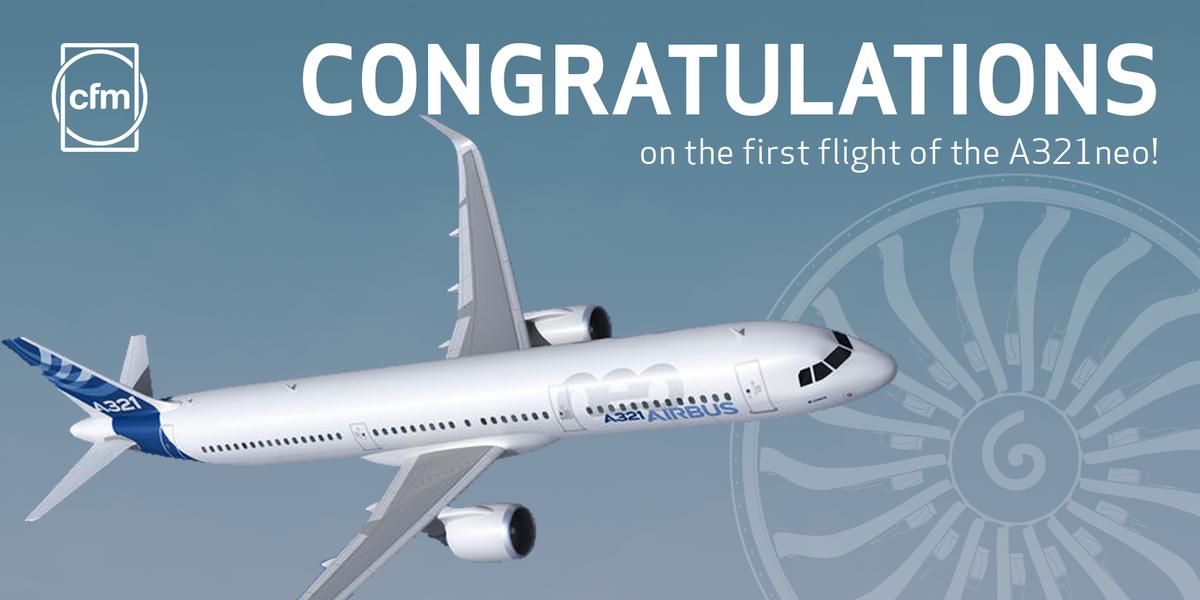 Congrats @Airbus for achieving this major milestone! #A321neo #avgeek https://t.co/PVAICqXuTp