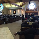 Barely any seats left as funeral service for Jibri Bryan begins. @41NBC https://t.co/mr7mFiTKXf
