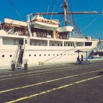 Recibimiento del crucero #Seacloud con 90 pax y 37 tripulantes #SantaMarta #DestinodelMundo #DestinodeTodos https://t.co/WtHFawbrzU