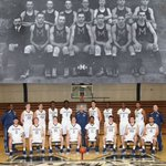 #TransformationTuesday: Moravian College Mens Basketball Team in 1915-1916 & 2015-2016! #houndem @Greyhoundsbball https://t.co/O2jEiAYdpY