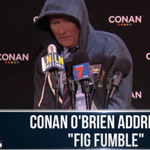 VIDEO: @ConanOBrien spoofs Cam Newton's post-Super Bowl presser https://t.co/nzO2i4SHkt https://t.co/gc8RaGCfQ8