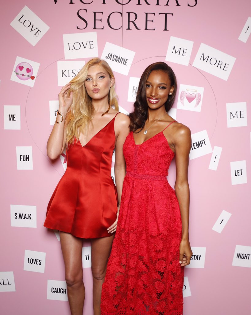 Can it be #ValentinesDay now? @elsahosk & @jastookes look good in red. ???????? #LoveMeMore https://t.co/9xjGIwDcvK