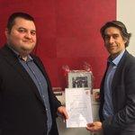 Kooperationsvertrag mit FCN-Vorstand Michael Meeske https://t.co/BRodFe7MVO