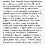 @villalobossebas @marcas0913 @kellypenaranda nos están violando nuestros derechos, no mas descriminacion!!! https://t.co/hzw4PTyQIO