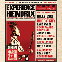 Retweet for a chance to win tickets to #ExperienceHendrix on Thursday, March 10th. Winner will be notified via DM. https://t.co/8iQetEjjdE