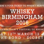 Masterclasses for #Whisky #Birmingham on sale 12pm on Friday. https://t.co/Nm5qhwgtQU Put it in your diary folks! https://t.co/7Zev7zc0HP