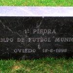 Donación de la primera piedra del Carlos Tartiere https://t.co/zkbkVcYV5g. Próximamente, en el #MuseoRO https://t.co/NSOgKXblf8