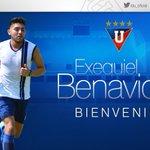 Información @ChevroletEc  Exequiel Benavidez es el nuevo jugador de #LDU para la presente temporada. https://t.co/kfCKy9HEdT