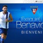 EN REEMPLAZO DE ÁLVEZ: Exequiel Benavidez nuevo jugador de #LDUQ (VIDEO) https://t.co/5phCVm79Gc https://t.co/XG5ErVWRUC