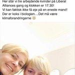 Tak til @LiberalAlliances seje kvinder!:) #ligestilling #feminisme #dkpol https://t.co/mYjg0vnz1R
