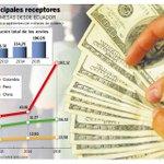 Envío de remesas desde #Ecuador aumentó 46,03%. ▶ https://t.co/kvknnoMgFU https://t.co/7SmIguWcki