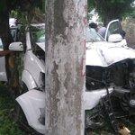 Se registra accidente de tránsito en km 20 de la vía a la costa, cerca de Puerto Hondo. (Foto: Marcelo Echeverría) https://t.co/4IUYX4Qj7b