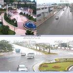 [Precaución]: En #Machala, #ElGuabo y #Atahualpa, se visualiza calzada mojada, conduzca con cuidado https://t.co/7V7t21bYb1
