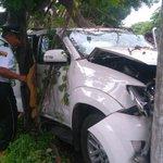 Accidente de tránsito en el km 20 de la vía a la costa deja heridos leves. (Ampliación). https://t.co/FaNiYPS6HU https://t.co/mscAfwmSK5