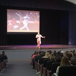 Thank you to CVC alum @SVogt1229 for speaking in chapel today with a message on perseverance from Hebrews 10:36! https://t.co/gqyuY3eXur