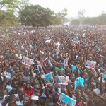 People of Lango you have made us proud, we thank you for your support & hospitality. #VoteBesigye on 18th February. https://t.co/N9IBsD4xBx