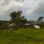 [Fotos] Así quedó la aeronave que se  estrelló en Los Roques https://t.co/XkRTp9C3pV https://t.co/1NjADYswEC