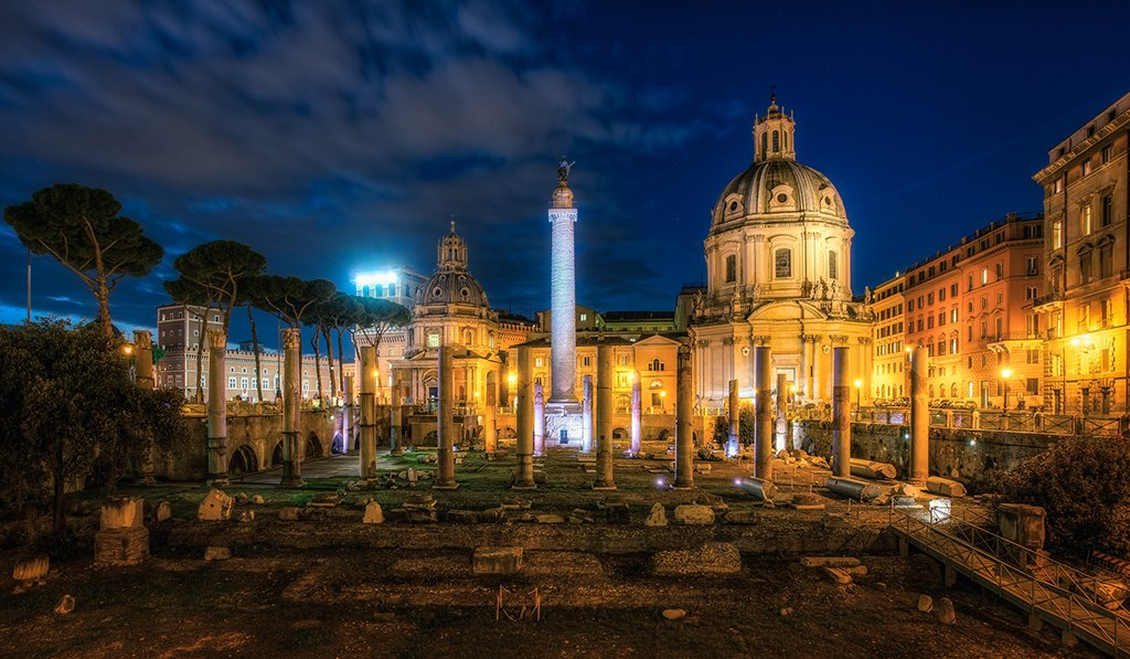 Trajan's Forum, Rome, Italy | Photography by ©Justin Brown https://t.co/XPiMCtjV2B