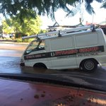Mayhem on Vincent street. Burst water main @9NewsPerth https://t.co/MIcz1D3zVQ