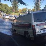 TRAFFIC ALERT! Burst water main. Vincent St-Charles St, North Perth. #perthtraffic Pic @BeauPearson https://t.co/JjcalaWLMe