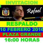 Este miércoles vamos tod@s a la Plaza Grande respaldemos el proceso de la Revolución Ciudadana @sergiomm90210 https://t.co/8Vmfhcmske