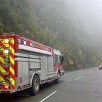 Operativo por #FeriadoCarnaval en la vía Cuenca-Molleturo, presenta lluvia y neblina, maneje con precaución. https://t.co/RkMf03kom7