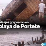 #Ecuador: Fuertes oleajes en #Muisne dejaron daños materiales » https://t.co/In9jtPXQHX https://t.co/GgCIg9RJXT
