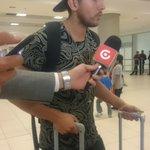 Arribo a Quito Exequiel Benavidez,nvo. Jugador de @LDU_Oficial #LDU Ex Boca Jrs.San Luis Dep.Iquique @areadepor945 https://t.co/nXVp12Czf9