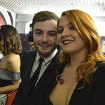 .@fragolaofficial :Noemi ma stai sudando anche tu? .@noemiofficial : sto sudando come un maiale! #Sanremo2016 ON AIR https://t.co/glEJv7FRPW