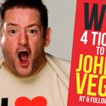 #WIN 4 TICKETS to see funny man @JohnnyVegasReal at @6onBroadStreet #Birmingham - 18 Feb! JUST RT & Follow by 9/2! https://t.co/SEtDi7dtsj