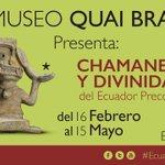 #Ecuador mostrará su cultura precolombina en #Francia ➡ https://t.co/DKULGRLaWj https://t.co/0juXKXOE7w