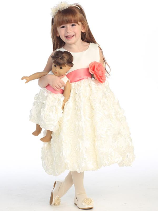 An AMAZING Deal - Ivory Floral Ribboned Tea-Length Girls Dress https://t.co/7AryAuiPSa @ABCClothing #wedding #easter https://t.co/bPTZemeKzF