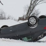 Icy road conditions lead to car rollover in Glenfinnan. #pei https://t.co/51T5KrsMaF https://t.co/JQAZPEMBJ0
