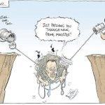 Closing the gap... @davpope cartoon via @canberratimes #auspol #SOSBlakAustralia #NBN https://t.co/XifQWo78CQ