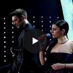 """#Sanremo2016 , Deborah Iurato e Giovanni Caccamo: """"Via da qui"""" [VIDEO] https://t.co/OFiYJuQnuP https://t.co/M4LVww3qlm"""