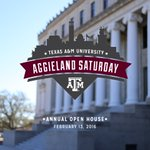 This weekend, well welcome prospective students and their families to Aggieland Saturday! https://t.co/Ef5LROcrmU https://t.co/9YLF64WJ9h
