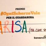 Seconda votazione: #OgniScherzoVale (ma ribadisco... CHE VOCE!!!) #Sanremo2016 #SanremoCeres https://t.co/DDvEVk6pfL