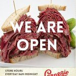 #NYCs legendary @carnegiedeli opened up their doors after 10-month hiatus today! https://t.co/veB7jbS8A5 #pastrami https://t.co/A4ktSki71j
