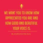 LaurenSing4US #BestFanArmy #Harmonizers #iHeartAwards https://t.co/K2KKoqyAcB