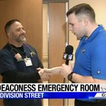 Thanks again to @CaseyLundKXLY from @KXLY4News for stopping by our new Deaconess North #ER #Spokane https://t.co/fcuSzhHj9l