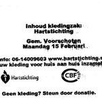 Record aantal kledinginzamelingen in Park #Allemansgeest #Voorschoten 15 februari aanstaande voor de #Hartstichting https://t.co/7DRxQoY0Jb