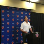 """Kurt Rambis says that hes talked to the Knicks about """"getting connected"""" again, particularly on the defensive end. https://t.co/cWbUAy8bSd"""