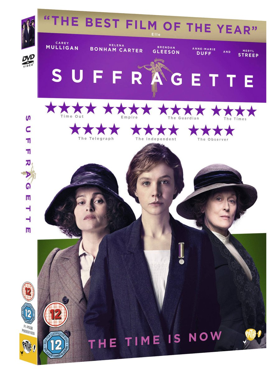 To celebrate the DVD release of the remarkable @SuffragetteFilm we're giving away x3 blu-ray copies. RT to #win! https://t.co/XVRriAFD6u