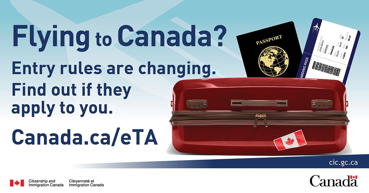 Get the details on the new Electronic Travel Authorization  effective March 15.