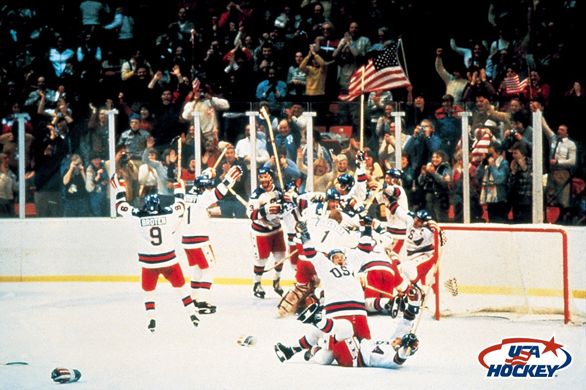 The U.S. Men's Olympic Team inspired us all 36 years ago today.  #MiracleOnIce https://t.co/lAdlT5eJnl